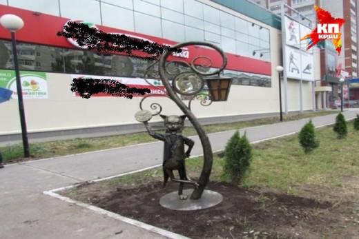 В Йошкар-Оле появился новый памятник «Йошкиному коту»