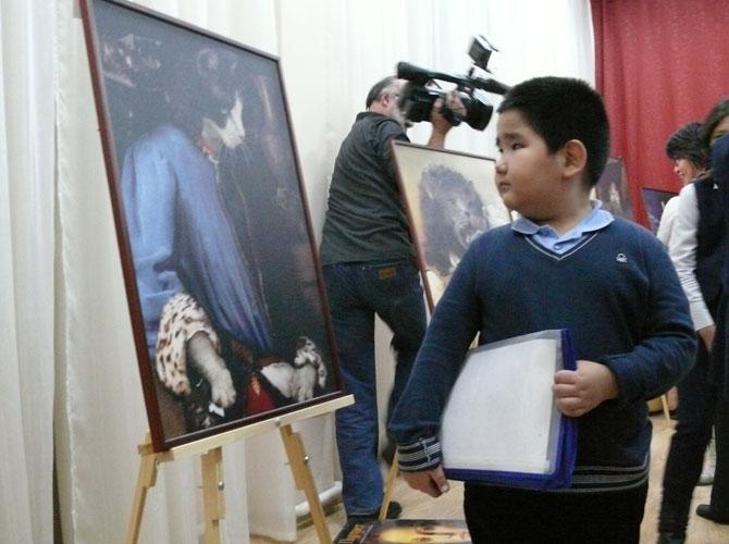 В Алматы прошла фотовыставка «Кошки»