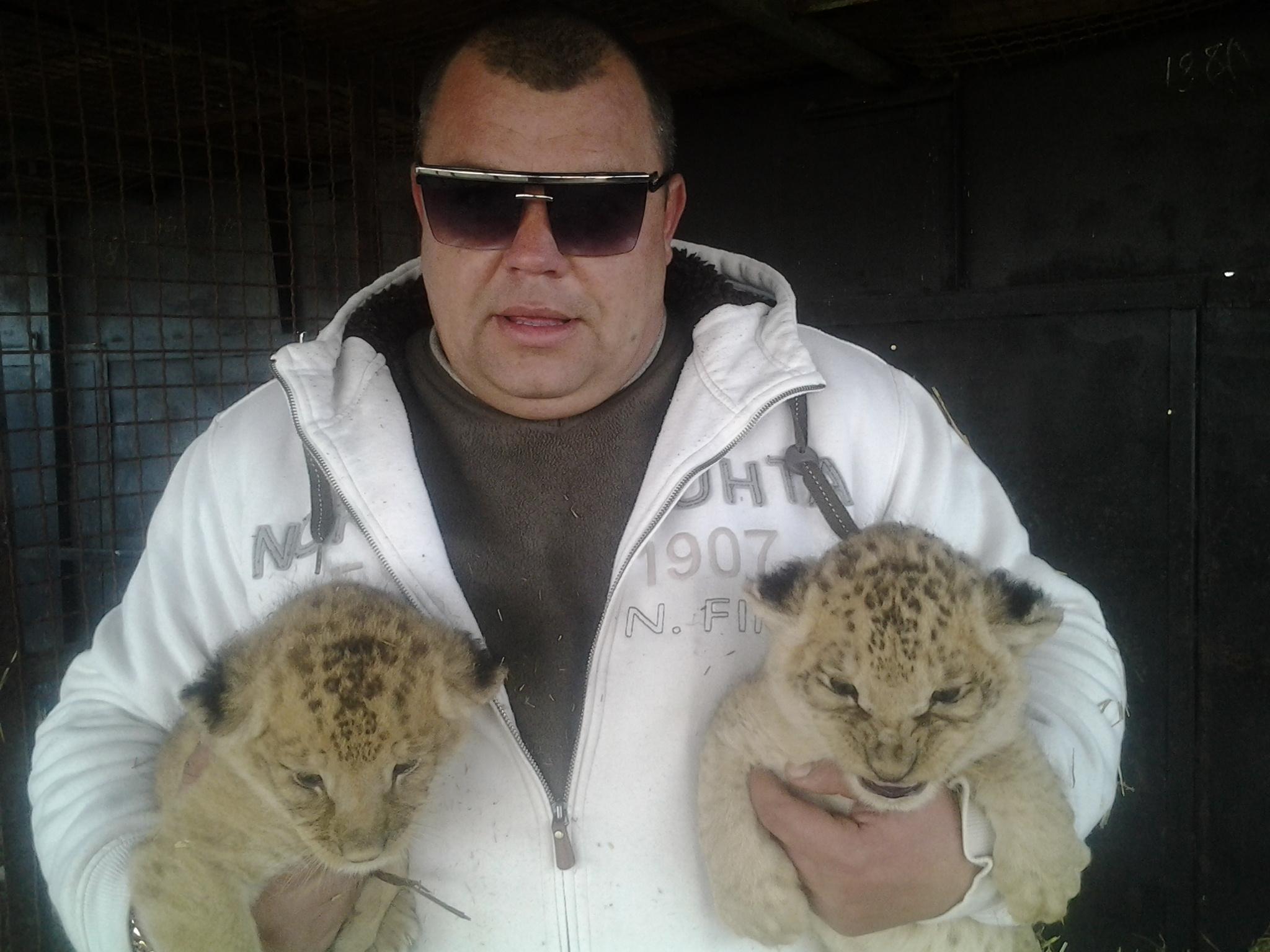 Херсон: в зоопарке на Арбатской стрелке родились львята
